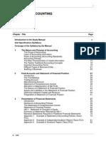 Financial Accounting Study Manual