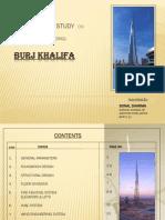Case Study on Burj Khalifa Dubai
