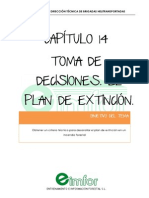 Capitulo 14 Toma de Decisiones. El Plan de Extincion