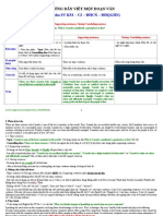 Guide Paragraph Writing