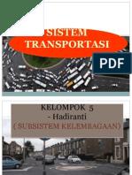 Presentasi Sistem Transportasi Kelompok 5
