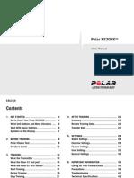 Polar RS300X User Manual English