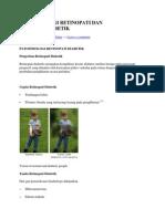 Patofisiologi Retinopati Dan Katarak