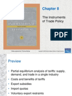 Chapter 8 - The Instruments of Trade Policy