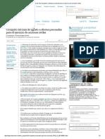 Cómputo Del Mes de Agosto a Efectos Procesales Para El Ejercicio de Acciones Civiles
