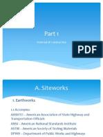 BT1 - Siteworks