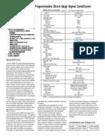 DI-5B38-100 Programmable Strain Gage Signal Conditioner