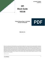 SPI Block Guide