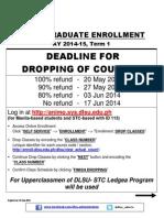 Enrollment Term 1 Ay 2014-2015