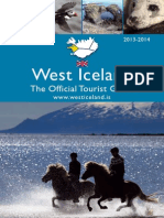West Iceland - Official Tourist Guide 2013-2014