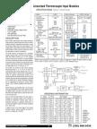 DI-5B47 Linearized Thermocouple Input Modules