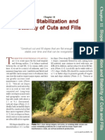 Slope Stabilization and Stability of Cuts and Fills