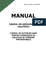 Manualul de Autoevaluare_asigurarea Calitatii