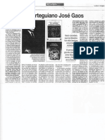 """Manuel F. Lorenzo, """"El orteguiano José Gaos"""", La Voz de Asturias, 9-6-1994."""