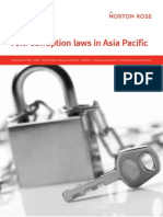 Anti Corruption Laws in Asia Pacific