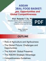 Asean as Food Basket Bogor 05-10-1
