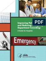 Improving Patient Flow and Reducing Emergency Department Crowding