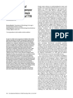 The Diagnosis of Autism and Asperger Syndrome- Findings From a Survey of 770 Families