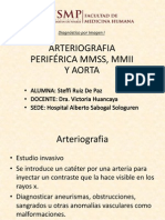 Arteriografia Periférica Mmss, Mmii y Aorta - Steffi Ruiz de Paz