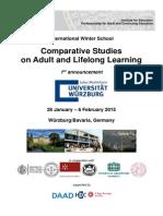 International Winter School-2015-(1st Announcement)