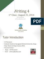 Writing 4_Pertemuan 1_Modul 1_Arif Nuryawan.pptx