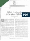 """Manuel F. Lorenzo, """"Delirio y melancolía de los dioses (Schelling)"""", El Basilisco, nº 11 (2ª época), 1992."""