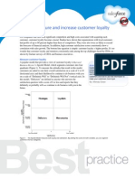 How to measure and increase customer loyalty