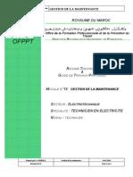 M13_Gestion de la maintenance GE-TE.pdf