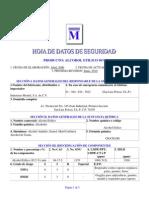 Alcohol Etilico 96 - Hds