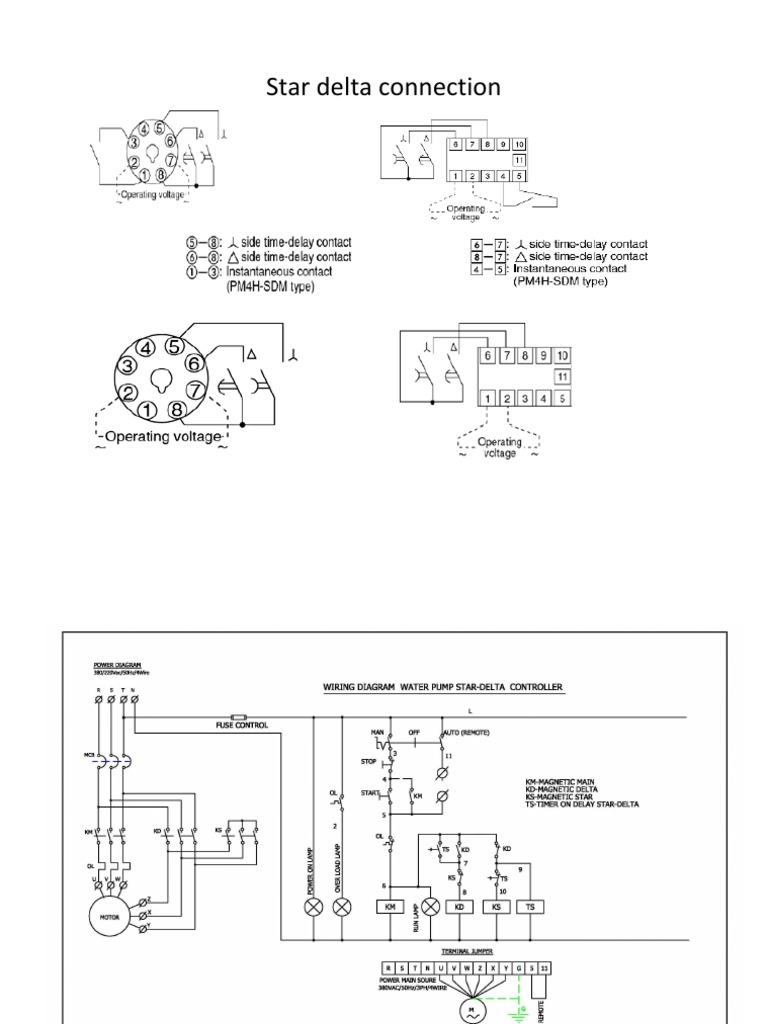 star delta connection electrical connector electrical wiring on Basic Electrical  Wiring Diagrams Trailer Wiring Diagram for