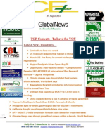 28th August,2014 Daily Global Rice E-Newsletter by Riceplus Magazine