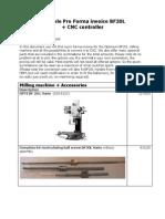 Optimum BF20L + CNC Controller