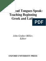 When Dead Tongues Speak[