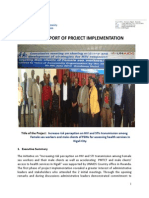 vco male clients project  report july   2014