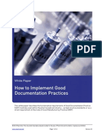 Mkt Wpr224 How to Implement Good Documentation Practices r01