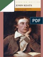 Harold Bloom - John Keats