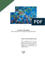 Um Tema, Dois Ensaios Método, História Oral, Concepções, Educação Matemática