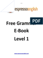 Free English Grammar eBook Beginner