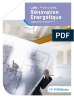 Label Promotelec Renovation Energetique Cahier Des Prescriptions Techniques Juin2012 1