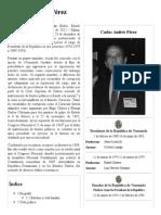 Carlos Andrés Pérez - Biografia
