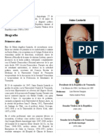 Jaime Lusinchi - Biografia