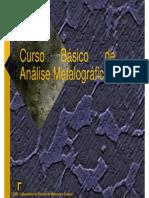 Curso Básico de Analise Metalografica