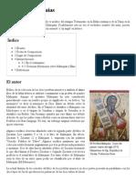 Libro de Malaquías - Reseña