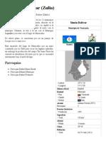 Municipio Bolívar (Zulia) - Reseña