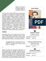 Nicolás Maduro - Biografia