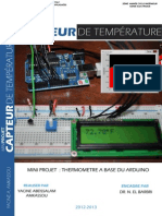 Arduino Capteur de Temperature