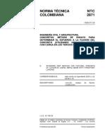 NTC 2871 ensayo de tensi+¦n Viga.pdf