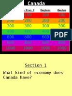 Canada Jeopardy