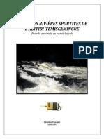 GUIDE DES RIVIÈRES SPORTIVES DE L'ABITIBI-TÉMISCAMINGUE - Pour la descente en canot-kayak
