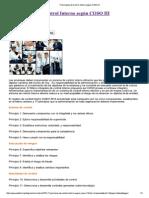 17 Principios de Control Interno Según COSO III